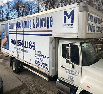 CWMAS Moving Service Truck
